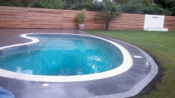 granite pool patio