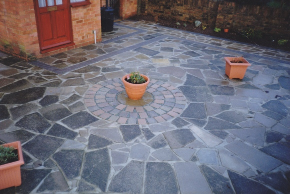 Crazy Paving Healey Paving Services