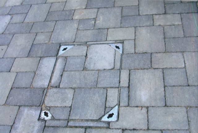 Healey Paving Man Hole covers in Uxbridge